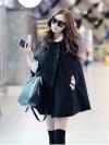 European style cape coat jacket พร้อมส่ง แบบสวยผู้ดี ไฮโซสุดๆ ทรงสวยเกาหลีมาก ผ้าสักกะหลาด