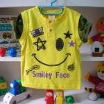 เสื้อยืด smiley Face size 80