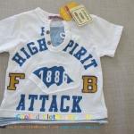 เสื้อยืดยี่ห้อดังSPUNKY KIDS size80