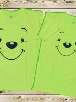 เสื้อคู่รัก ลาย หมีพูห์ น่ารักๆจ้า
