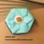 """กระเป๋าสตางค์ 6 แฉกแบบ 2 สี ขนาด 3.7"""" #099-084 thumbnail 3"""
