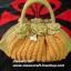 กระเป๋าถือเชือกร่ม รหัสPB022 ก้นกระเป๋ายาว 42 ซม. สูง 20ซม. thumbnail 1