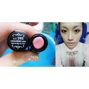 พร้อมส่ง NYX New Round Lipstick สี Strawberry Milk (ชมพูนม)