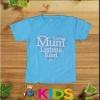 เสื้อเด็กสีฟ้า วันแม่ cotton100%