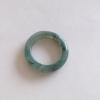RJ55(5) แหวนหยกพม่าแท้ไซท์เล็กพิเศษ ไซท์ 55 USA7 นื้อสวยเกรดส่งออกสีธรรมชาติ 100 %