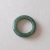 RJ55(4) แหวนหยกพม่าแท้ไซท์เล็กพิเศษ ไซท์ 55 USA7 นื้อสวยเกรดส่งออกสีธรรมชาติ 100 %