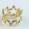 สว่างสดใสกับแหวนดวงดาวสีทอง size1.7 cm