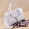 กระเป๋าสะพาย สีขาว ขนาดใหญ่-Xiaocai
