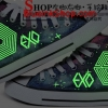 พร้อมส่ง รองเท้า Exo overdose galaxxy สีม่วง