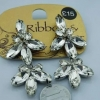 new2 silver earrings size 1cm ต่างหูดีไซส์สมัยใหม่แสนโฉบเฉี่ยว