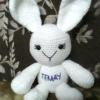ตุ๊กตาถักไหมพรมกระต่าย