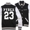 Hood เบสบอล PYREX Nevy black