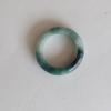 RJ55(7) แหวนหยกพม่าแท้ไซท์เล็กพิเศษ ไซท์ 55 USA7 นื้อสวยเกรดส่งออกสีธรรมชาติ 100 %