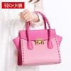 กระเป๋าสะพาย สีชมพูพีช-Axixi