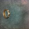 แหวนทองคำแท้ ฝังเพชรแท้ ชุบทองชมพู (สั่งทำได้ค่ะ)