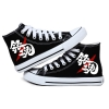 Preorder รองเท้า Gintama กินทามะ ส้นแบน สกรีนเรืองแสง
