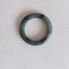 RJ55(16) แหวนหยกพม่าแท้ไซท์เล็กพิเศษ ไซท์ 55 USA7 นื้อสวยเกรดส่งออกสีธรรมชาติ 100 %