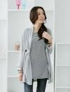 เสื้อผ้าแฟชั่น เสื้อผ้าเกาหลีKorean fake two striped stitching T shirt