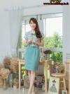 NewDress ผ้าทอลายสก็อต ชุดผ้าฮานาโกะ (มีซับไฮเกรดทั้งชุดครับ)