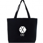 พร้อมส่ง กระเป๋าผ้า exo 【FBB022】