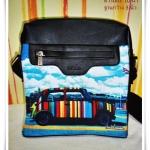 กระเป๋าสะพายหนัง Paul smith รุ่น มินิคูเปอร์