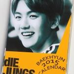 ปฎิทิน EXO Baekhyun Jungs