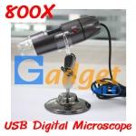 (พร้อมส่ง) กล้องจุลทรรศน์ USB Digital Microscope กำลังขยาย 800X มีไฟส่องในตัว (พร้อมส่ง)
