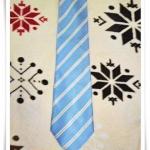เนคไท Burberry ผ้าไหมแท้ โทนสีฟ้า