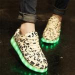 รองเท้า Simulation LED USB LED