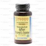 Swanson AjiPure N-Acetyl-L-Cysteine 600 mg 60 แคปซูล (USA) เพื่อผิวขาว กระจ่างใส สำหรับผู้ที่ทานกลูตาไธโอนแล้วไม่ได้ผล ประสิทธิภาพสูงกว่า NAC ทั่วไป สำเนา