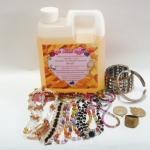 OK Clean Bright น้ำยาทำความสะอาดเครื่องประดับ เครื่องเงิน ทองเค ทองเหลือง นาค สแตนเลส โลหะทุกชนิด 1000 ml.