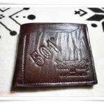 กระเป๋าสตางค์ Levis สีน้ำตาล L005