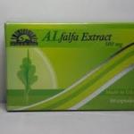 Alfalfa Extract 500 mg 60 เม็ด บิดาแห่งอาหารทั้งมวล ช่วยในระบบทางเดินอาหาร และระบบขับถ่าย และช่วยดูแลสุขภาพต่างๆมากมาย