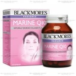 Blackmores Radiance Marine Q10 60 เม็ด อาหารเสริม สารสกัดจากธรรมชาติเเละแร่ธาตุ บำรุงผิวพรรณ ผิวขาว หน้าเด้ง ลดเลือนริ้วรอย (ดาราดังนิยมทาน)