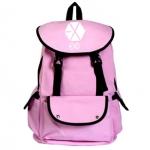 พร้อมส่ง กระเป๋าเป้ EXO แบบผ้า [Pink]