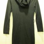 [JACKET] เสื้อคอตลบตัวยาวสีดำ ใส่เป็นเดรสยาว หรือ ใส่กับ legging คาดเข็มขัดเก๋ๆ ซักเส้น น่ารักค่ะ (เข็มขัดไม่มีรวมในชุดค่ะ)