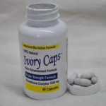 Ivory Caps 1500 mg Glutathione Complex 60 เม็ด (USA) ผิวขาวใส รวดเร็วทันใจ เป็นกลูต้าไธโอนแบบเม็ดที่ดีที่สุด คุณภาพพรีเมี่ยม