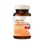Acerola Cherry 1000 mg (45 เม็ด) วิตามินซีธรรมชาติ 100% ผสมสารสกัดเมล็ดองุ่น ทับทิม และมะเขือเทศ เพื่อผิวขาว กระจ่างใส