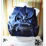 กระเป๋าสะพายหลัง Kipling สีน้ำเงินเข้ม K112