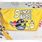 กระเป๋า เกมส์ angry bird ยอดฮิต สีเหลือง
