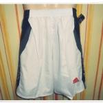กางเกงผ้าร่มขาสั้น สีขาว AD001