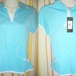 เสื้อกีฬาผู้หญิงสีฟ้า B201