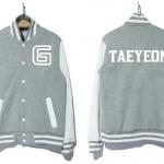 พร้อมส่ง HOOD Kim Tae Yeon SNSD  Gray.ไซด์ XL