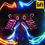 เชือกรองเท้า LED ไฟกระพริบ