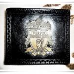 กระเป๋าสตางค์ ทีม Liverpool สีดำ