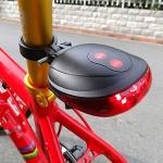 (พร้อมส่ง) ไฟท้ายจักรยาน สีแดง