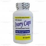 Ivory Caps 1500 mg Glutathione Complex 60 เม็ด (USA) ผิวขาวใส รวดเร็วทันใจ เป็นกลูต้าไธโอนแบบเม็ดที่ดีที่สุด คุณภาพพรีเมี่ยมมาตรฐาน อย. จาก USA