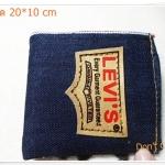 กระเป๋าสตางค์ ผ้ายีนส์ Levis no3