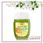 Bath & Body Works / PocketBac Sanitizing Hand Gel 29 ml. (White Peach Chardonnay)