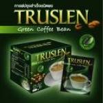 Truslen Plus Green Coffee Bean กล่อง 10 ซอง กาแฟสูตรผสมกาแฟเขียวกาแฟ เพื่อลดน้ำหนักและควบคุมน้ำหนัก